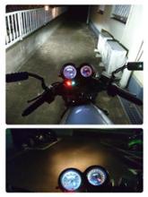 VT250 SPADA (スパーダ) SUPAREE H4 LED ヘッドライトの全体画像