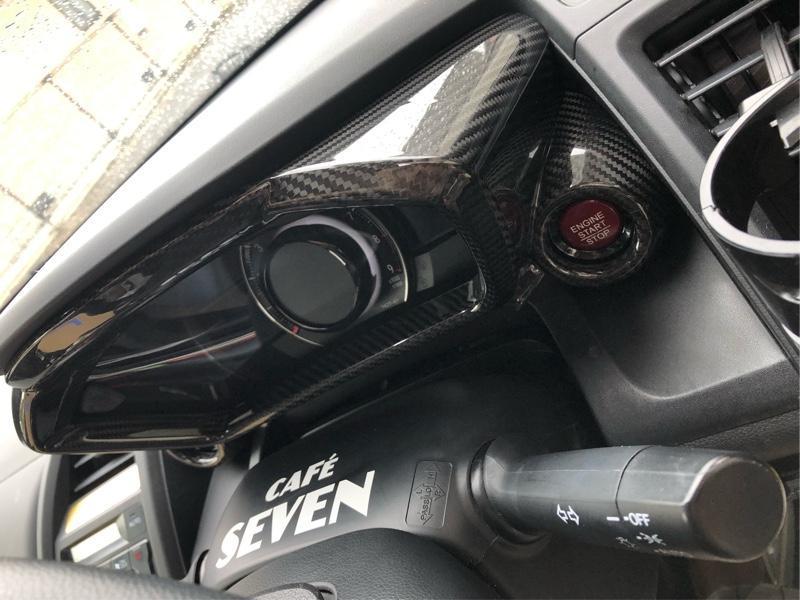 AXIS-PARTS GT-DRYカーボン メーターインナーフード