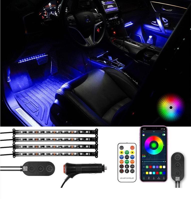 不明 車用LEDテープ LEDテープライト 12V RGB