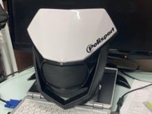 YZ125Xpolisport HALO ヘッドライト フロントマスクの全体画像