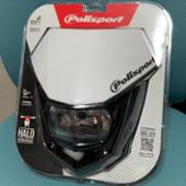 polisport HALO ヘッドライト フロントマスク