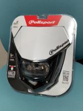 YZ125Xpolisport HALO ヘッドライト フロントマスクの単体画像