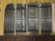 ラムUSA DODGE RAM chromeインナーグリルの全体画像