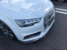A4 アバント (ワゴン)m+ / キザス Front Lip Spoiler for Audi A4 S-Line(カーボン仕様)の全体画像