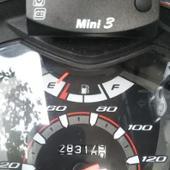 中国 バイク用小型防水メーター 時計.温度計.電圧計