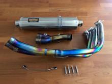 K1200R Sportササキスポーツ チタンフルエキの単体画像