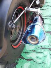 ズーマーRinparts Splendid Traiangle Sport ステンレス  Ver2 11031219の全体画像