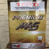 TEITO(帝都産業) PREMIUM 4L M4S 4Tエンジンオイル 10W-40 SN/MA2