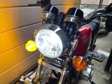 CB400FSphere Light LEDヘッドライト ライジングアルファの単体画像