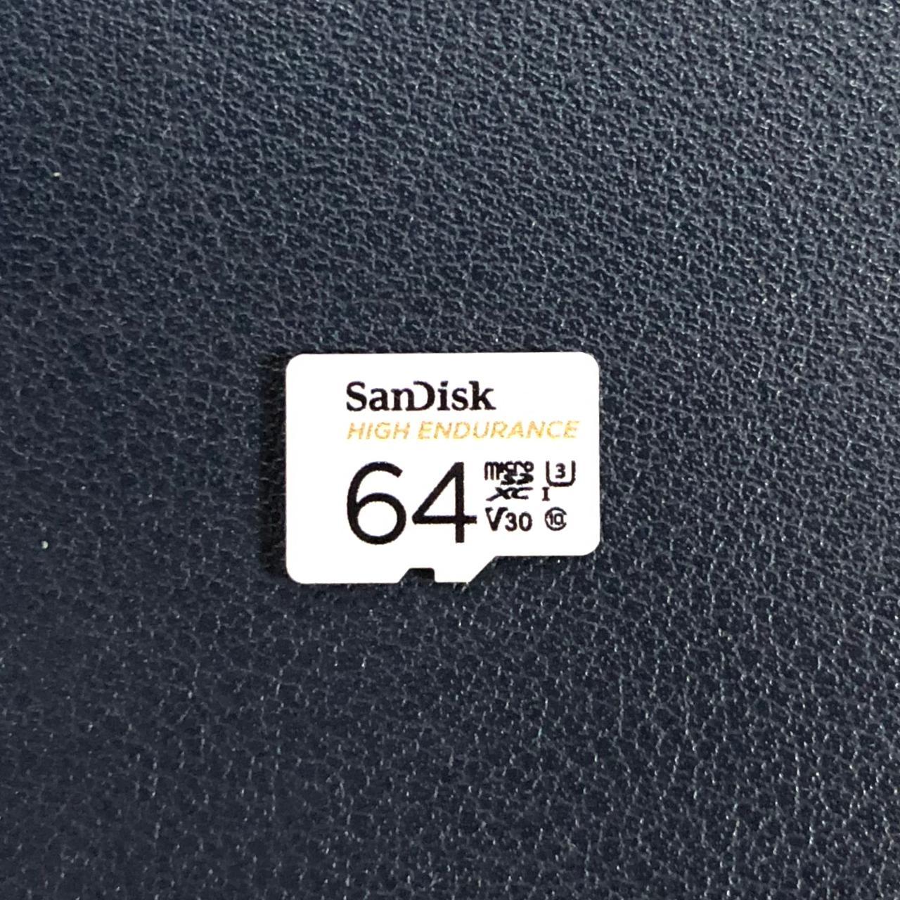 SanDisk 高耐久microSDカード 64GB