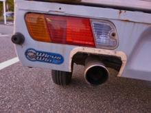 ミニキャブ・ミーブ トラックWIRUS WIN ステンレスマフラーの単体画像