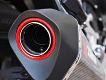 400XScorpion Exhausts SERKET TAPER スリップオンマフラーの全体画像