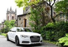 A6オールロードクワトロ自作 Audi genuine ナンバープレートレスフィラーの単体画像