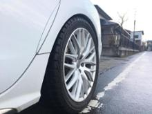 A6オールロードクワトロaudi genuine Q7(7M)Meshdesign-alloysの全体画像