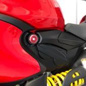 GZYF バイク フレームホールキャップカバー
