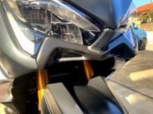 T-MAX530ノーブランド フロントエアインテークの単体画像