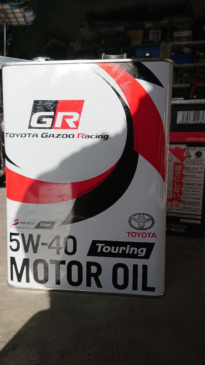 トヨタ(純正) トヨタガズーレーシング 5W-40 Touring