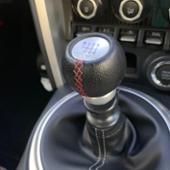 TRD 本革巻きシフトノブ MT車用