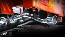 ピクシス トラックSPIEGEL LS-304 (レベルサウンド304) 軽トラック専用車検対応マフラーの単体画像