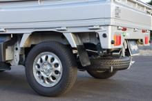 NT100クリッパーSPIEGEL LS-304 (レベルサウンド304) 軽トラック専用車検対応マフラーの単体画像