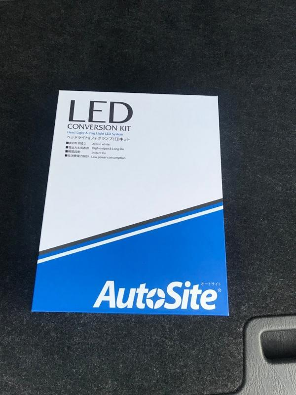 AutoSite LED ヘッドライト H4 車検対応 AS75 6500k ファンレス 角度調整機能付 12v 24v