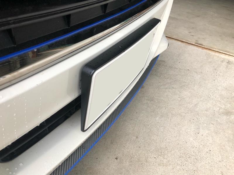 CAR MATE / カーメイト LUXIS ナンバーベース R2000 / LS366