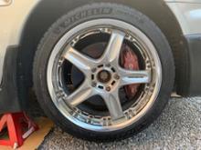 ギャランRAYS VOLK RACING GT-C FACE1の単体画像