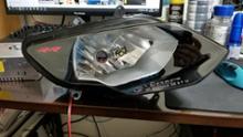 S1000RR自作 インナー塗装ヘッドライトの単体画像