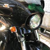 X-STYLE X-STYLE バイク ledフォグランプ ハーネスキット 2色 60W
