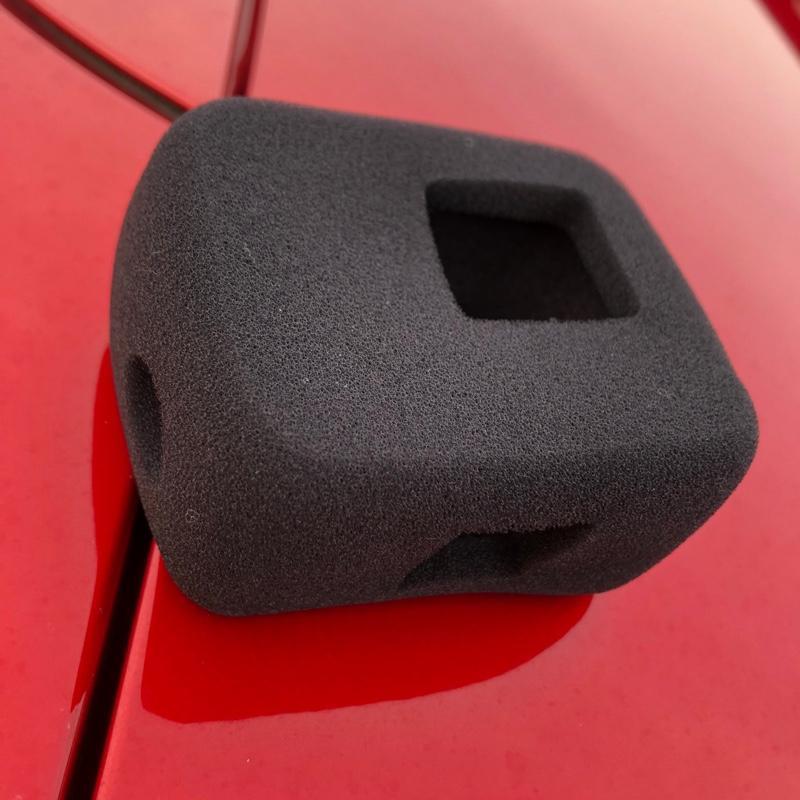 GoPro 防風スポンジカバー 騒音防止 録音ノイズ対策 防塵 保護 防風カバー ケース
