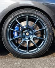 インプレッサ スポーツRAYS VOLK RACING ZE40の単体画像
