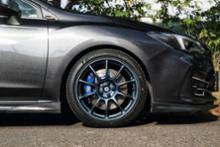 インプレッサ スポーツRAYS VOLK RACING ZE40の全体画像