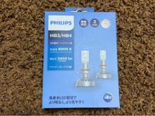 エスクァイアPHILIPS LED 6000K HB3/4 (オートバックスモデル)の単体画像