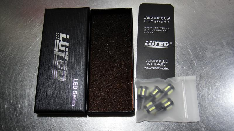 LUYED LUYED 921 T10 LED バルブ 7020&3030SMD 10連 超高輝度 5個入り ホワイト