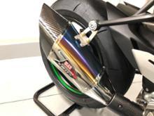NinjaH2ヨシムラ Slip-On R-11Sq チタンサイクロンの単体画像