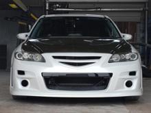 アテンザスポーツワゴンAutoExe フロントバンパー&グリルの全体画像