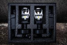 ハスラーREIZ TRADING 7200lm H4 プロジェクター LEDヘッドライトの全体画像