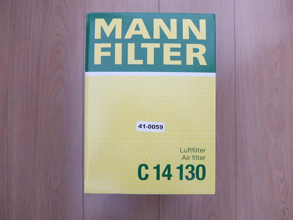 MANN+HUMMEL エアーフィルター