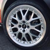 BMW MINI(純正)BBS クロス・スポーク・コンポジットR90(シルバー)