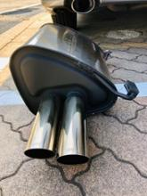レガシィツーリングワゴンSTI デュアルスポーツマフラーの単体画像