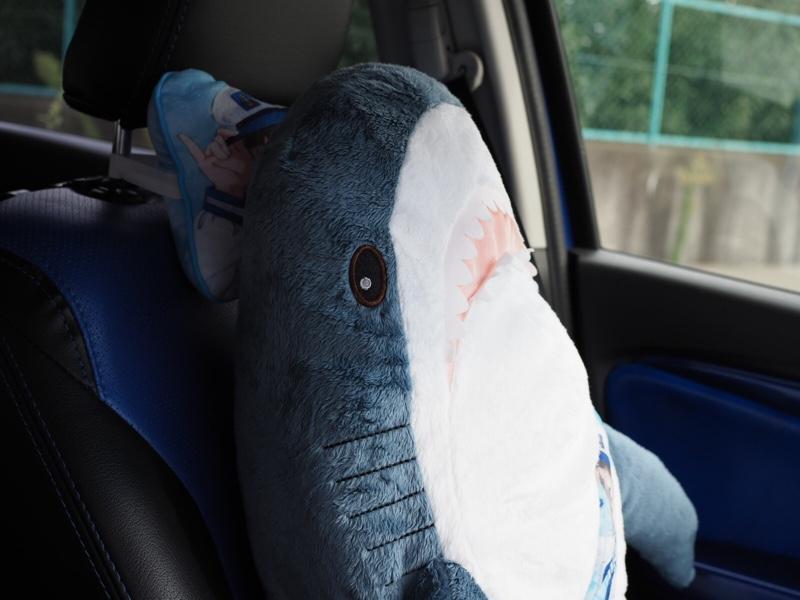 ぬいぐるみ ikea サメ