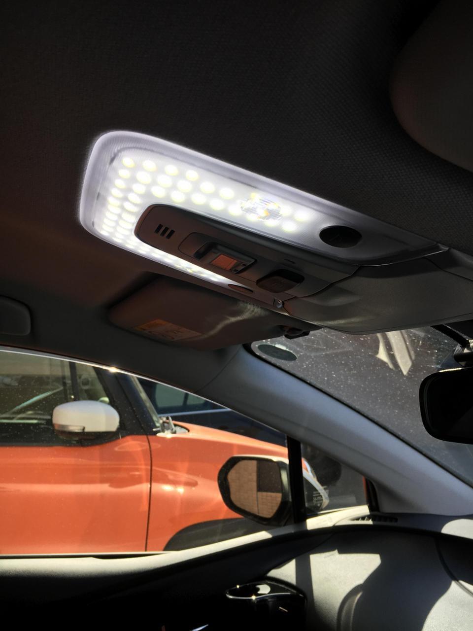 ユアーズ プリウス 50系  ZVW50 ZVW51 ZVW55 【ムーンルーフなし車】ルームランプ LED 7点セット 車種専用設計