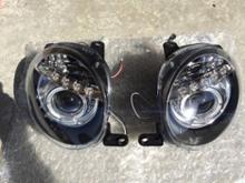 アバルト・500 (ハッチバック)JUNYAN LED プロジェクターヘッドライトの単体画像