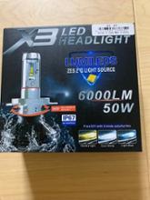 バンディット1250FX3LED H7 LEDヘッドライトの全体画像