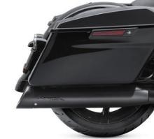ストリートグライドスペシャルHarley-Davidson純正 スクリーミンイーグルストリートキャノンパフォーマンススリップオンマフラー4.5インチサテンブラック(64900554A)の単体画像