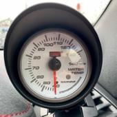 AutoGauge SMワーニング 水温計