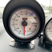 AutoGauge SM 白フェイス 電圧計 60φ