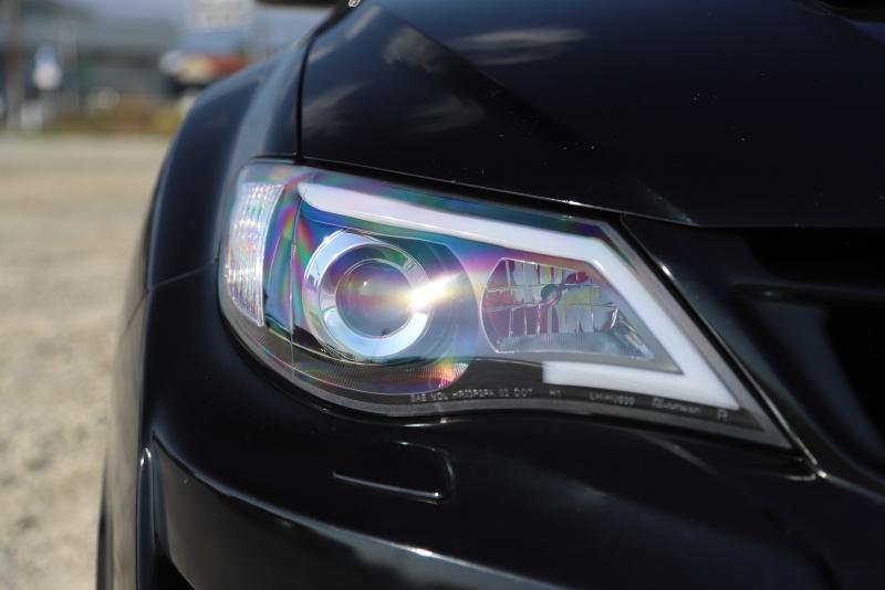 CLEAR WORLD LEDアクリルライン内蔵 プロジェクターヘッドライト