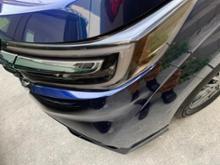 ステップワゴンハイブリッド モデューロXヘッドライト・テールライト ギリギリ スモークの単体画像