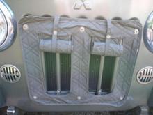 ジープ三菱自動車(純正) ラジエータガードカバーバックの全体画像